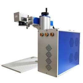 20W Fiber Laser Engraver Marking Machine High Speed Small Size Laser