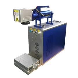 Raycus 30W Hand Held Fiber Laser Marking Machine EZ Cad FDA Certified