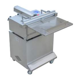 "Stand Type External Vacuum Sealer with 18"" Seal Bar and Gas Flush"
