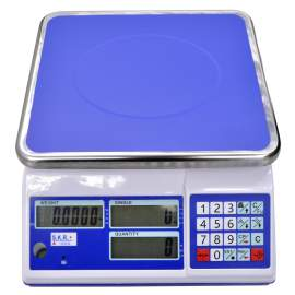 LCD Compact Digital Counting Scale 33lb/15kg x 0.001lb/0.5g