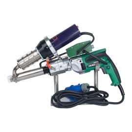 1600W Handheld Plastic Welding Extruder Extrusion For PP HDPE LDPE Welding Hand Extruder Welder