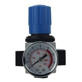 "P1 Precise 1/4"" NPT(F) Air Regulator 0-123 psi Adjustment Range"