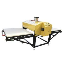 """31"""" x 39"""" Pneumatic Heat Press Machine Double Pull Out Worktable"""