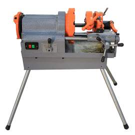 """Bolt and Pipe Threading Machine 1/2"""" to 3"""" NPT Threader 1HP"""