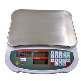 Digital LCD Compact Bench Counting Scale 165lb/75kg x 0.005lb/2g
