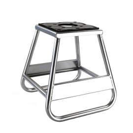 Motorcycle Dirt Bike Stand with Removable Oil Pan 750 Lb. Capacity