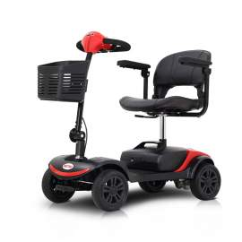 4 Wheel Electric Powered Wheelchair Compact Mobility Scooter