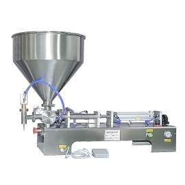 0.34-3.4 OZ Paste/Liquid Filling Machine Semi-Auto One-Head Filler