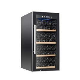 "15."" Width 28Bottles Capacity Single Zone Wine Cooler 3. cu.ft. / 90 L"