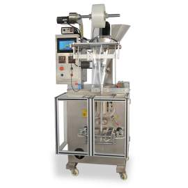 With 2 Bag Formers  Vertical Powder Form-Fill-Seal Packaging Machine