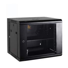 12U 23.6x21.6'' SPCC Double section Wall Mounted Network Cabinet