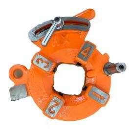 """1/2"""" - 2"""" Die Head for 2"""" ZT-B2-50F Threading Machine Orange"""