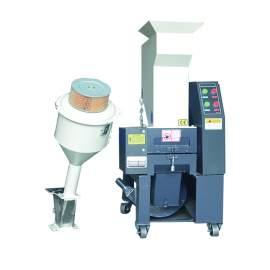 3HP Medium Speed Plastic Granulator 460V 3Phase 220 - 330 lbs/hr