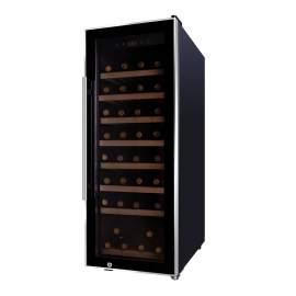 "15"" Width 43 Bottles Capacity SingleZone Wine Cooler 4. cu.ft. / 131 L"