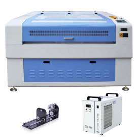 130W Reci W6 CO2 Laser Engraver and Cutter P1