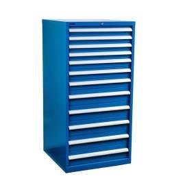 "Industrial Modular Drawer Cabinet 28 1/4"" x 28 1/2"" x 57"" 12 Drawers"
