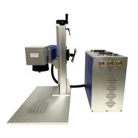 30W Fiber Laser Engraver Marking Machine For Metal And Nonmetal