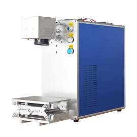 30W Integrated Fiber Laser Marking Machine USB Port P1