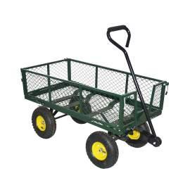 "38""L x 20""W Steel Utility Cart Garden Wagon 700lb Capacity"