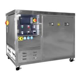 Industrial Ultrasonic Cleaner 33Gal HMI 28/56 kHz CE Certified Made In Taiwan