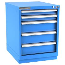 Champion Modular Series Desk Height 5 Drawers NW1200-0501ILC-FTB