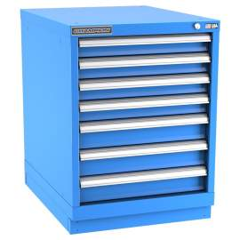 Champion Modular Series Desk Height 7 Drawers NW1200-0701ILC-FTB