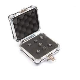 "ER11-7PCS(1/16""-1/4"") Precision Spring Collet  Aluminum alloy box"