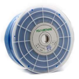 "1/4""OD x 656ft Polyurethane Tubing Blue"