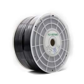 "P3 Precise 1/4""OD x 656' Polyurethane Tubing Black"