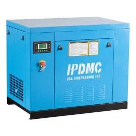 28 CFM Rotary Screw Air Compressor 230V 3 Phase 7.5 HP 125 PSI