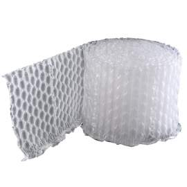 """HDPE 16""""W × 12.6""""L 984 ft air bubble film for safe delivery"""