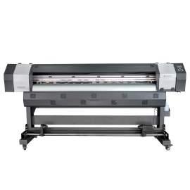 6Ft 1800MM Piezo Inkjet ECO Solvent Printer With Epson DX5 Printhead