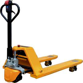 """3000 Lbs Lithium Semi Electric Pallet Jack Truck 48x27"""" Fork"""