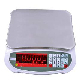 Digital LED Weighing Compact Bench Scale 165lb/75kg x 0.005lb/2g