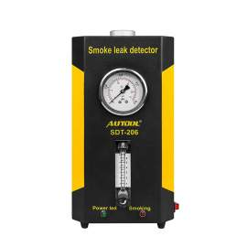 Leak detector for automobile piping system