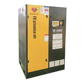 128 CFM 116 PSI Rotary Screw Air Compressor 460V 3-Phase 30HP