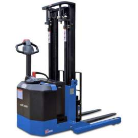 """Blue Giant 126"""" Lift Powered Walkie Stacker BGS-30-126"""