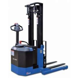 "Blue Giant 126"" Lift Powered Walkie Stacker BGN-40-126"