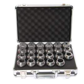 ER40-23PCS(4mm-26m) Precision Spring Collet Aluminum alloy box