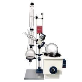 5.3-Gallon/20L Manual Lifting Rotary Evaporator
