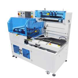 "Automatic High Speed 18"" W X 22"" L L-Bar Sealing Machine by Heat Seal"