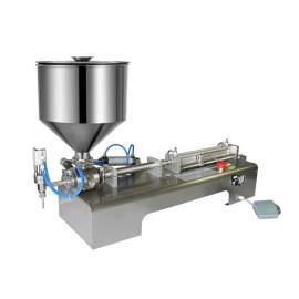 0.34-9.46 Paste/Liquid Hand Soap Filling Machine One Head a