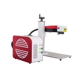 Update Raycus 30W Split portable galvo Fiber Laser Marking Machine