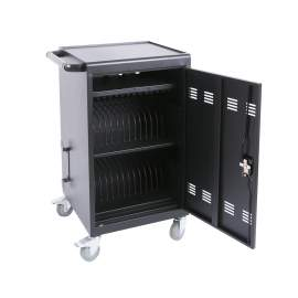Mobile Charging Cart and Cabinet for Tablets  Laptops 30-Device