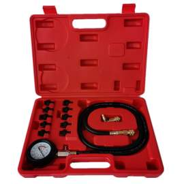 0-140 PSI Oil Pressure Tester Kit & Gauge Tool for Engine Diagnostic