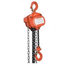 VITALI-INTL Manual Chain Hoist 1000 Lb Load Capacity 10Ft Hoist Lift