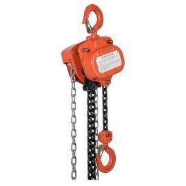 VITALI-INTL Manual Chain Hoist 2000 Lb Load Capacity 20Ft Hoist Lift