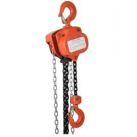 Industrial Manual Chain Hoist 4000 Lb Load Capacity 10Ft Hoist Lift
