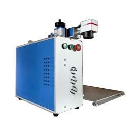 Raycus 30W Fiber Laser Marking Machine / Laser Engraving Machine