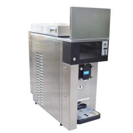 Commercial Soft Ice Cream Machine with 1 Hopper for Vending 37-42 Qt/H
